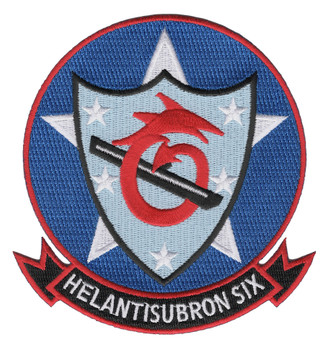 HS-6 Indians Patch - HELANTISUBRON 6