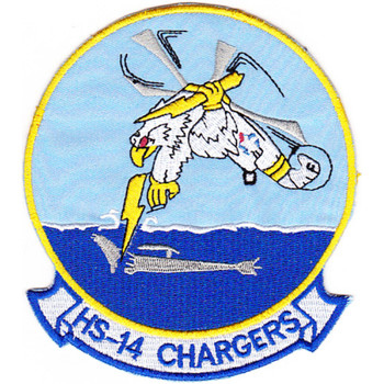 HS-14 Anti-Submarie Wafare Aviation Patch