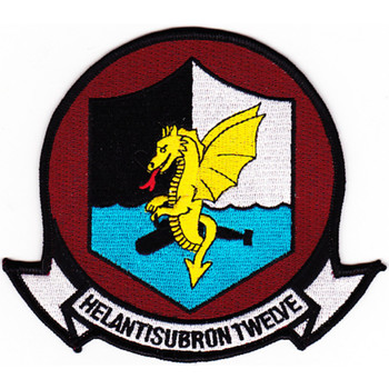 HS-12 Anti-Submarine Warfare Aviation Squadron Patch