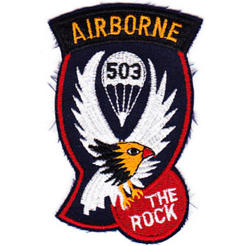 503rd Airborne Infantry Regiment Patch - D Version