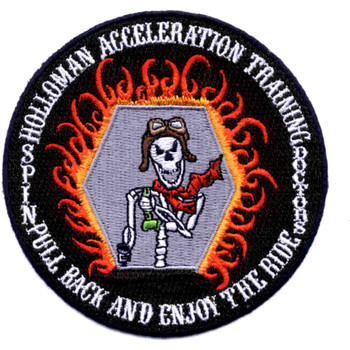 Holloman Air Force Base Acceleration Training Facility Patch Hook And Loop
