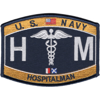 HN Deck Rating Hospitalman Patch