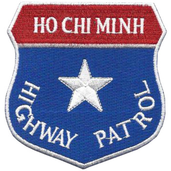 Ho Chi Minh Highway Patrol Patch