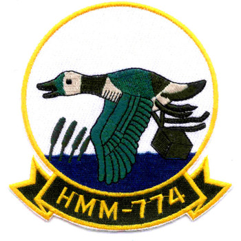 HMM-774 Medium Helicopter Squadron Patch