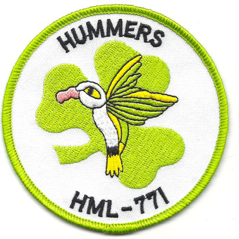 HML-771 Hummers Shamrock Patch