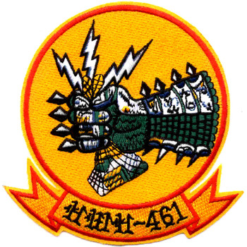 HMH-461 Heavy Hauler Helicopter Squadron Large Patch