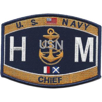HMC Chief Hospital Corpsman HMC Patch