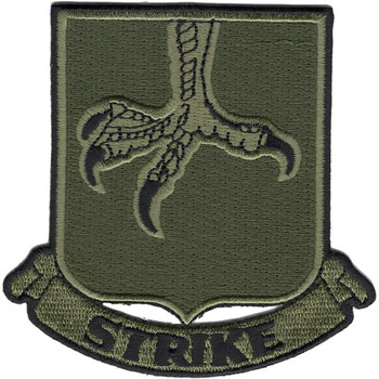502nd Infantry Strike Patch OD Green