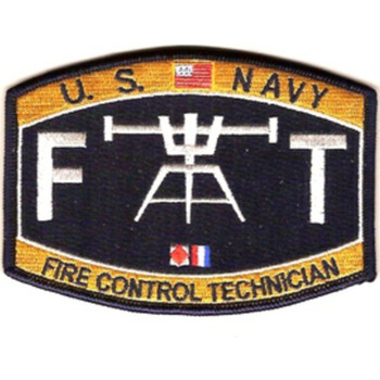FT-Deck Fire Control Technician Ratings Patch