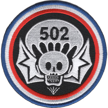 502nd Airborne Infantry Regiment Widowmaker Patch