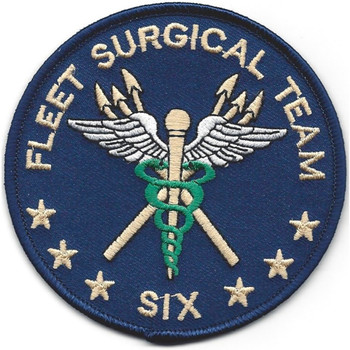 Fleet Surgical Team Six Second Version Patch