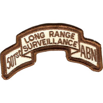 501st LRS Airborne Infantry Desert Patch