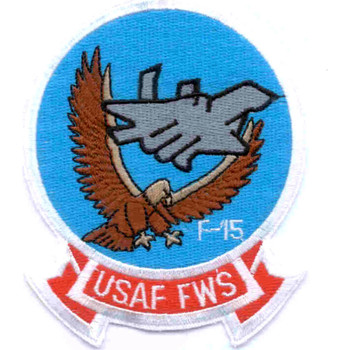 Fighter Weapons School Patch F-15
