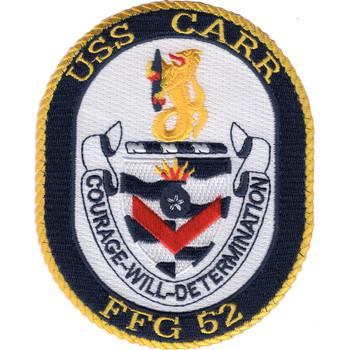 FFG-52 USS Carr Patch