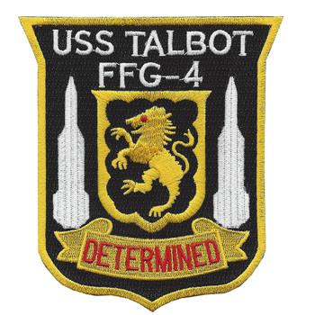 FFG-4 USS Talbot Patch