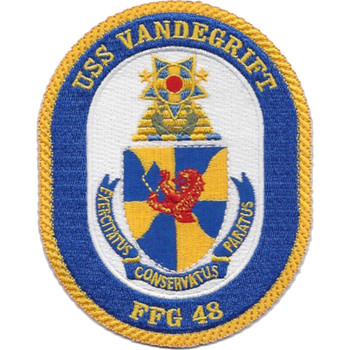 FFG-48 USS Vandegrift Patch