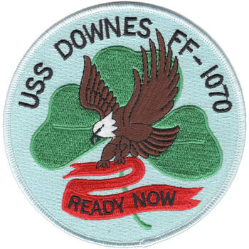 FF-1070 USS Downes Patch