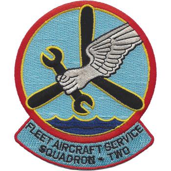 FASRON 2 Fleet Aircraft Service Squadron Patch