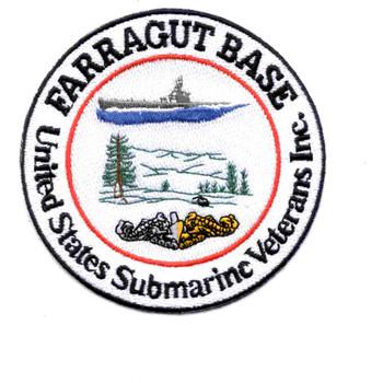 Farragut Veteran's Base Coeur d'Alene Idaho Patch