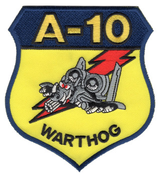 Fairchild Republic A-10 Thunderbolt II Patch Warthog