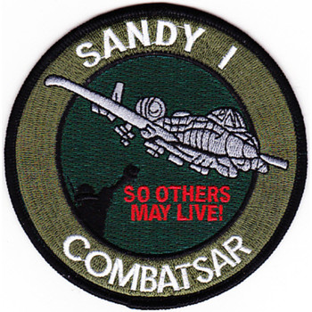 Fairchild Republic A-10 Thunderbolt II Ground Combat SAR Patch