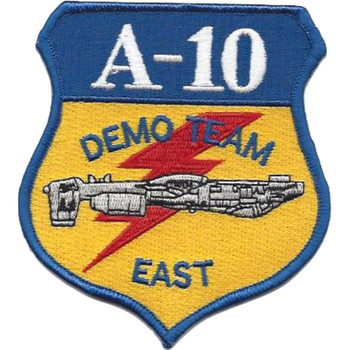 Fairchild Republic A-10 Demo Team East Patch