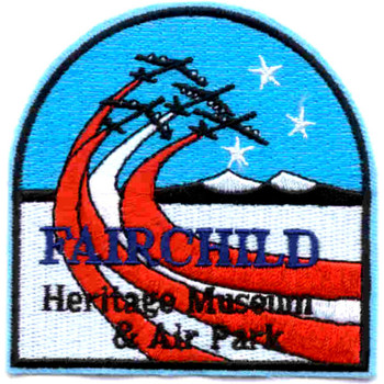 Fairchild Air Force Base Patch Heritage Museum & Air Park