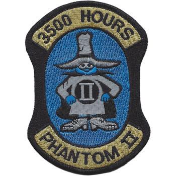 F-4 Phantom II 3500 Hours Patch