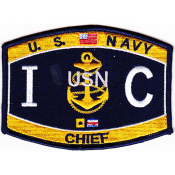 ICC Interior Communications Electrician Chief Petty Officer Patch