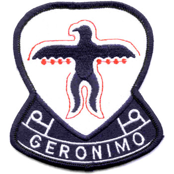 501st Airborne Infantry Regiment Geronimo Patch