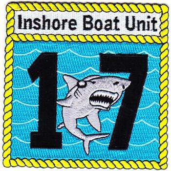 IBU-17 Inshore Boat Unit Seventeen Patch