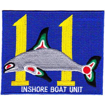 IBU-11 Inshore Boat Unit Eleven Patch
