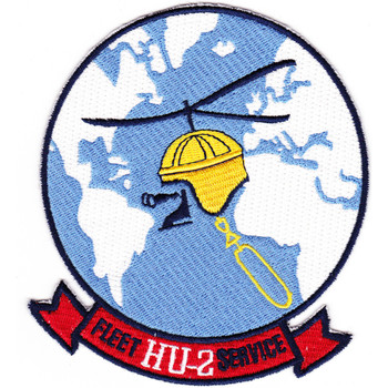 HU-2 Patch Fleet Service Fleet Angels