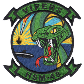 HSM-48 Patch - Helicopter Maritime Strike Squadron Vipers
