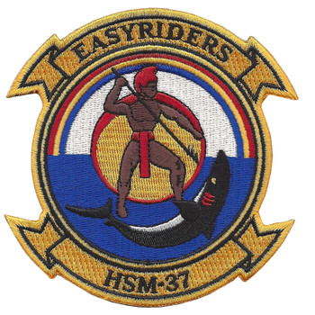HSM-37 Helicopter Maritime Strike Squadron Patch - Version A