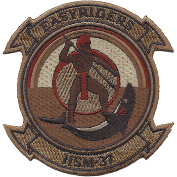 HSM-37 Helicopter Maritime Strike Squadron Desert Patch