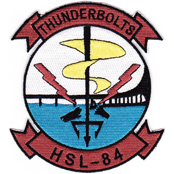 HSL-84 Patch Thunderbolts