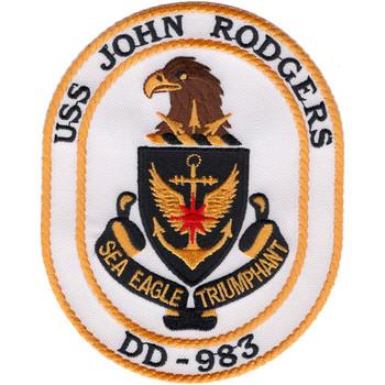 DD-983 USS John Rodgers Patch