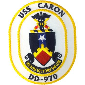 DD-970 USS Caron Patch