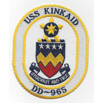 DD-965 USS Kinkaid Patch