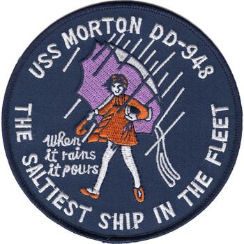 DD-948 USS Morton Patch - Version B