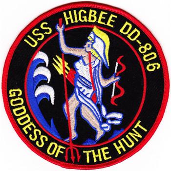 DD-806 USS Higbee Patch - Version B