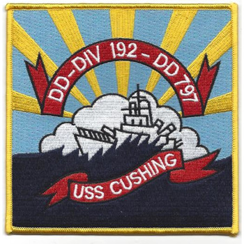 DD-797 USS Cushing Patch