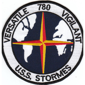 DD-780 USS Stormes Patch