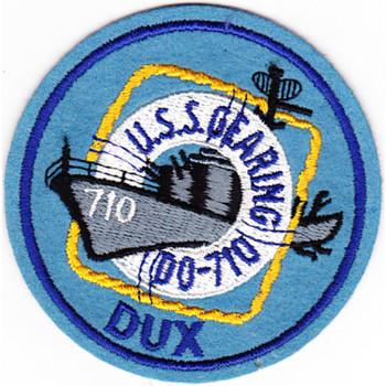DD-710 USS Gearing Patch
