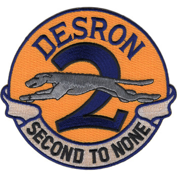 Desron 2 Destroyer Squadron Patch