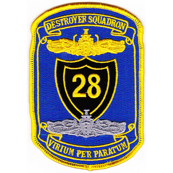 DESRON 28 Destroyer Squadron Second Version Patch