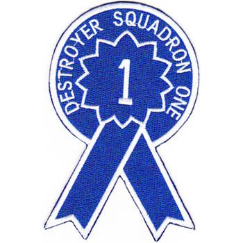 DESRON 1 Destroyer Squadron Patch