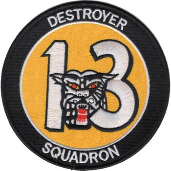 Desron 13 Destroyer Squadron Patch