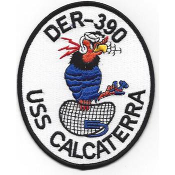 DER-390 USS Calcaterra Patch